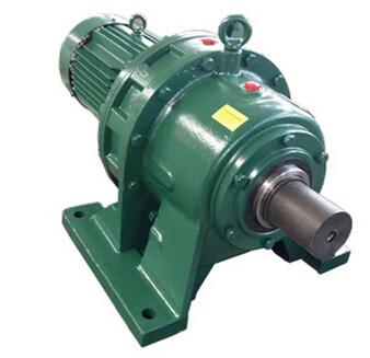 WBL1510摆线针轮减速机 立式安装双级减速配370W电机
