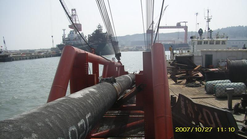 供应梅州市铺设水下电缆公司安装水下过河管道