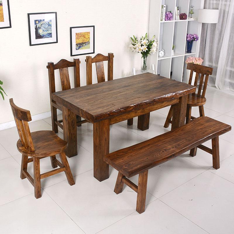济宁哪里有生产老榆木餐桌的厂家