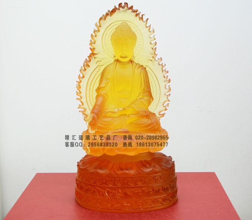 南京古法琉璃佛像厂家 南京琉璃办公室书房