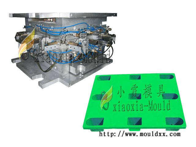 订做注射卡板模具 塑料网格托盘模具价格