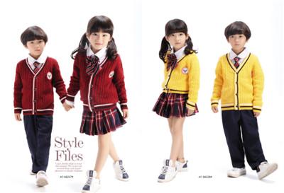 厂家直销校服 园服春秋冬装儿童运动服套装中小学生装