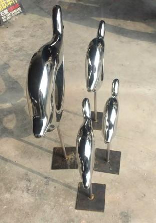 广州雕塑公司定制不锈钢雕塑金属工艺品