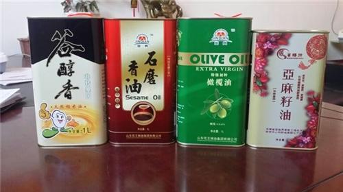 食用油铁罐,龙波森金属包装,5L食用油铁罐分销商