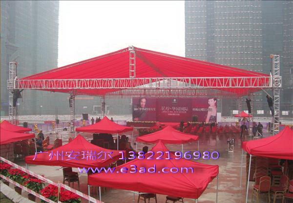广州太空架帐篷厂直销桁架帐篷