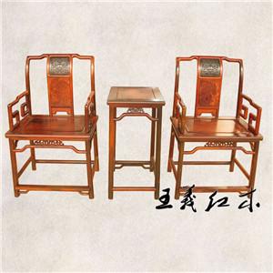花梨木灯挂椅 设计新做工一流可定制缅甸花梨家具