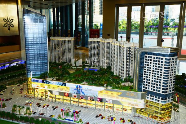 深圳医院建筑模型