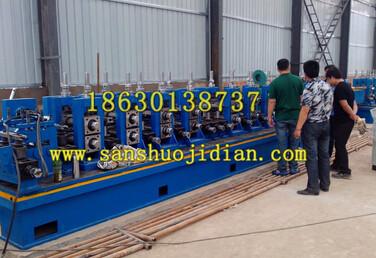 钢管制造厂用焊管机河北三硕机电设备有限公司