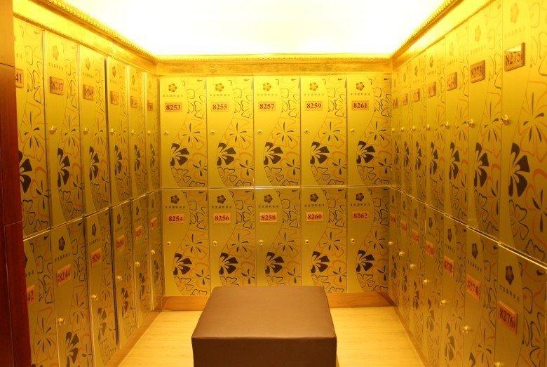 浴场更衣柜桑拿浴场洗浴中心