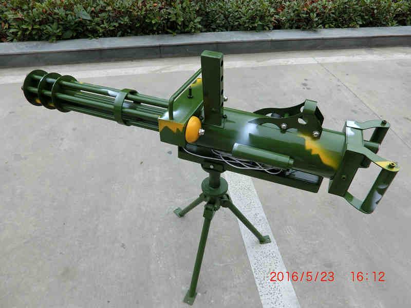 供应商丘多管气炮玩具,加特林游艺气炮批发