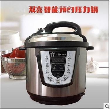 双喜电压力锅 微电脑电饭煲电饭锅
