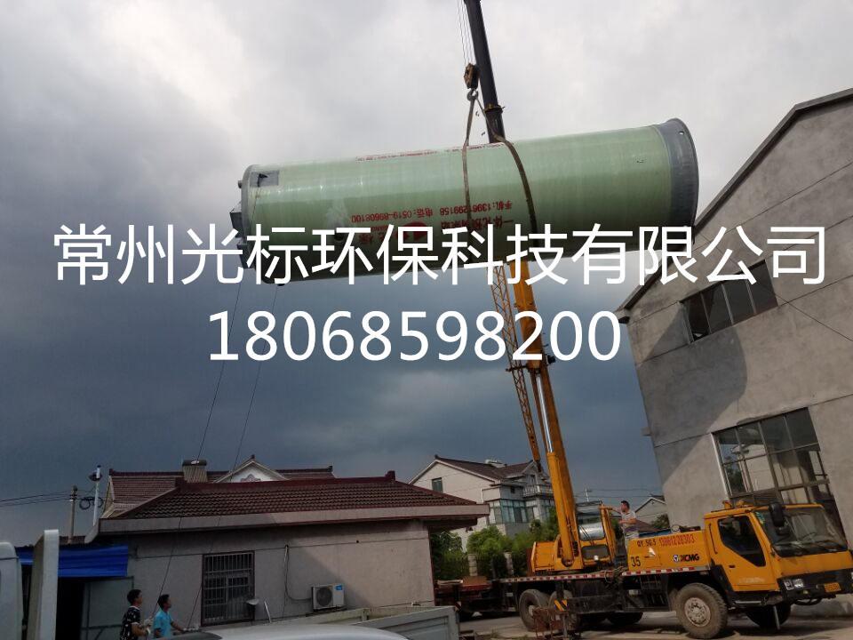 欣喜:新型优质污水泵站广西施工周期短