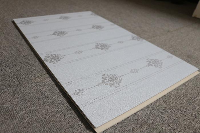 600无缝板集成墙板环保装饰防水木塑成墙