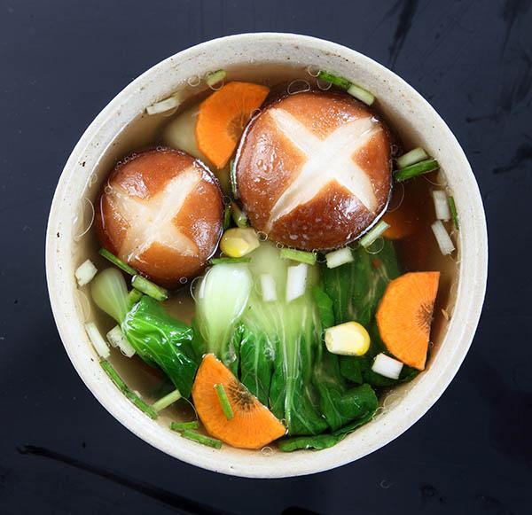 兴利香菇汤鸡汁味6g方便速食即食香菇汤加