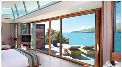 铝合金窗 银豪门窗 威海仿古铝合金窗