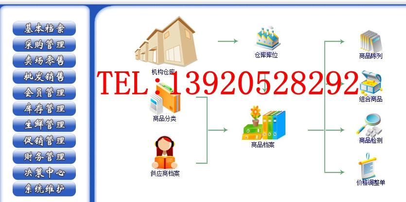 天津超市收银系统厂家直销超市收银系统软件