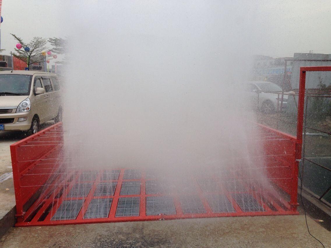 深圳工地环保洗车机,泥头车专用洗轮机,工