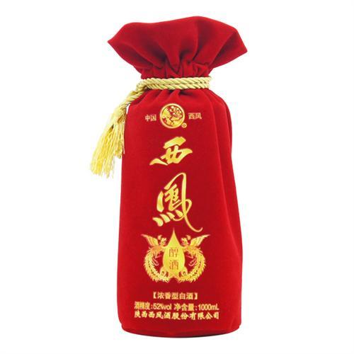 绒布袋、绒布酒袋定做厂家、广东束口绒布袋定做