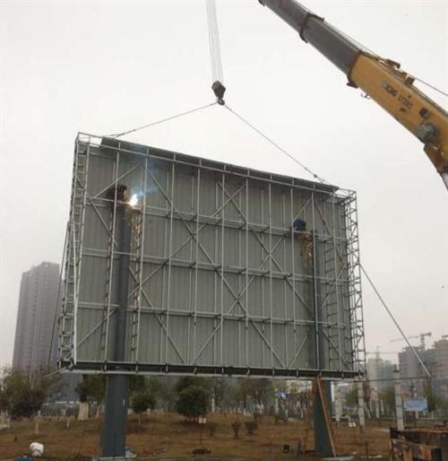 led显示屏钢结构|新余钢结构|中建显示屏钢结构加工