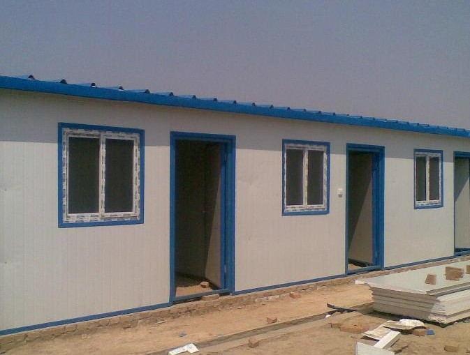 供应泰顺夹芯板活动房定制 单层活动房拆装 岗亭围墙承建施工