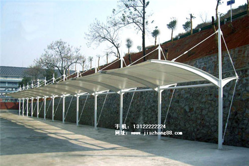 河南自行车棚施工