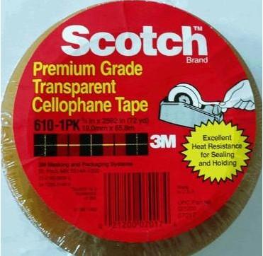 3M610油墨测试胶带