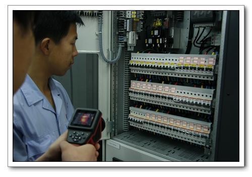 合邦承接青岛地区竣工验收电气检测项目