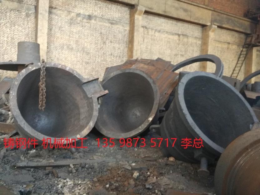 山东烟台铸钢件铸件轧机机架轴承座牌坊渣灌铸造加工