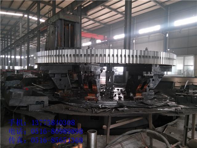果壳活性炭回转炉传动配件大齿轮烘干机大齿轮
