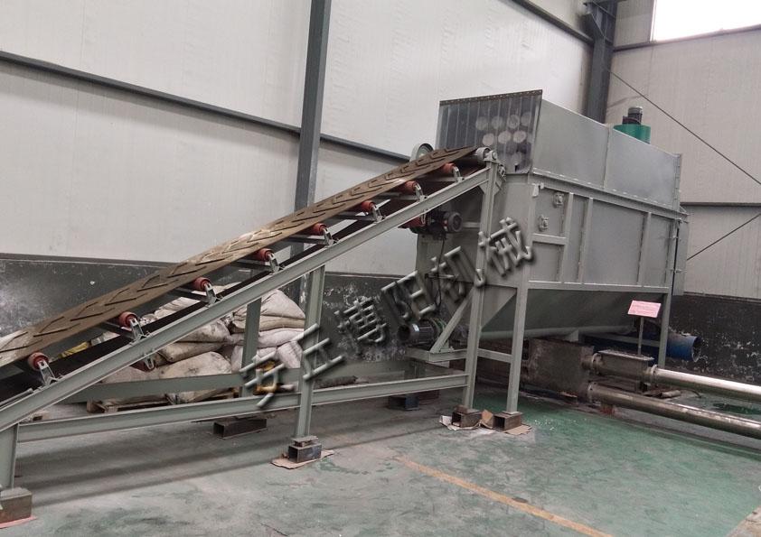 博阳CDJ50碳酸钙自动拆袋机、拆包机厂家销售