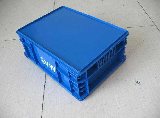 B配盖平口塑料周转箱厂家优促