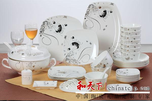 婚庆礼品陶瓷餐具 酒店用品陶瓷餐具