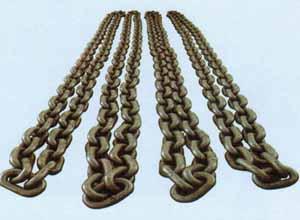 高强度起重链条抢占国外市场-t8级起重链条