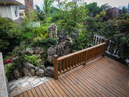 私人别墅设计_綦江别墅设计_金汉宫园林景观公司(查看