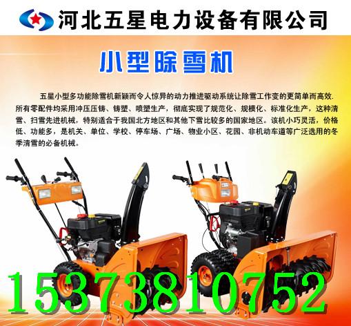 多功能扫雪机&小型路面清雪机,自走式清雪机/小区扫雪机供应