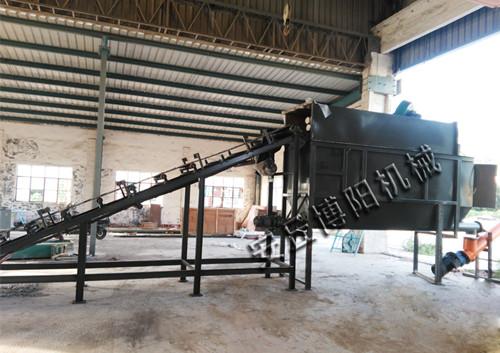 博阳CDJ50工业盐自动破包机,自动拆包机专业生产