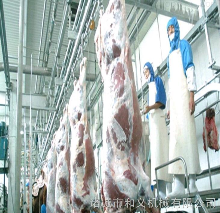 牛羊悬挂式内脏同步检验输送机