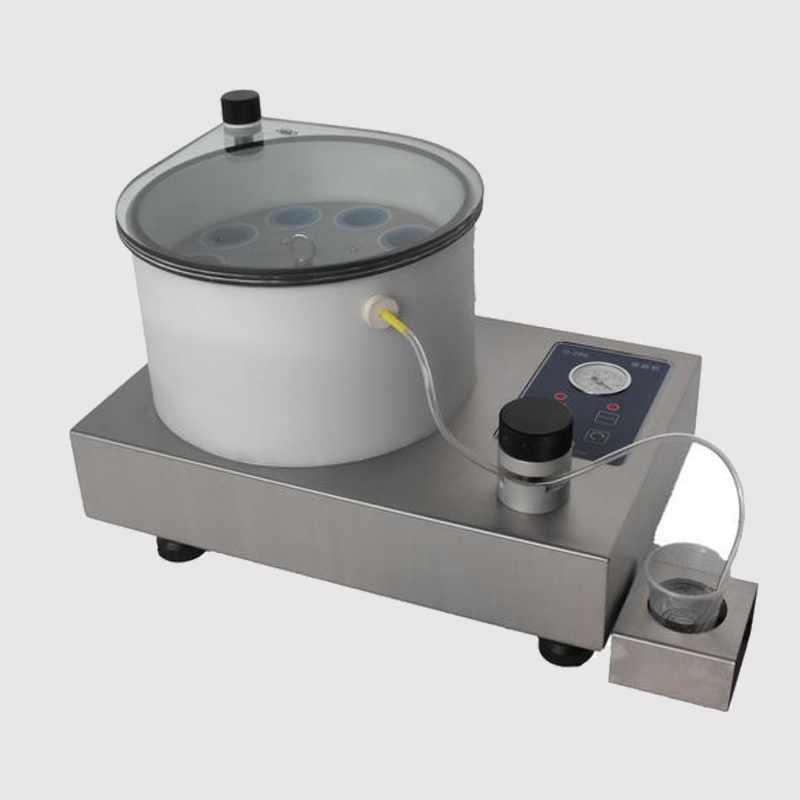 川禾 金相MCQ290多工位真空冷鑲嵌機 金相設備儀器
