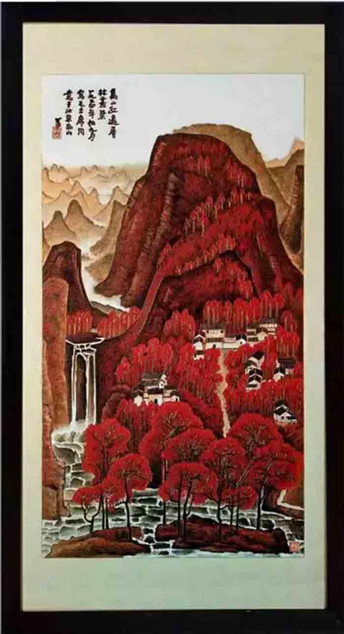 通州区题材:风景画