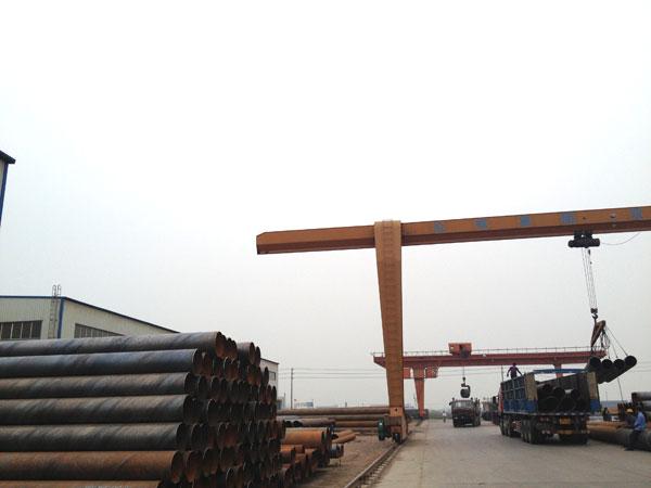 打桩用螺旋钢管 桥梁用螺旋钢管 码头用螺旋钢管