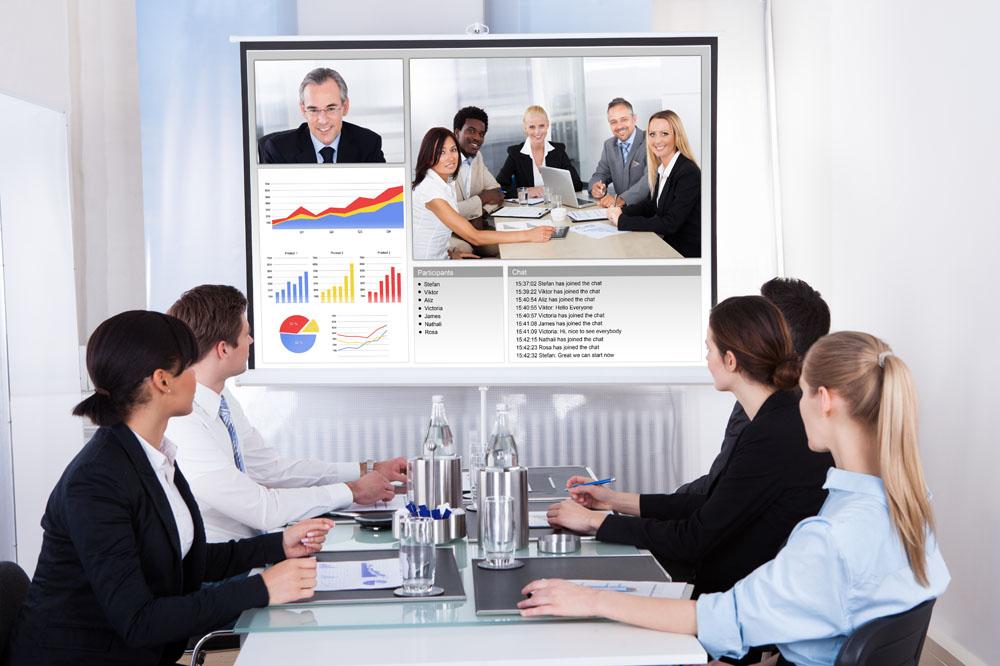 让企业通信实现互联的263视频会议软件