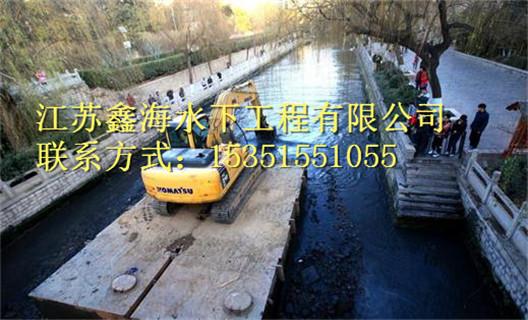 思南县水下工程公司闸门槽水下检查