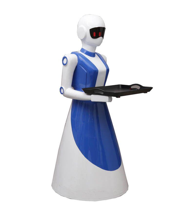 """""""偶呀""""餐饮服务机器人----科技之花别样红"""