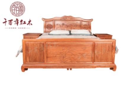 红酸枝 汉宫大床