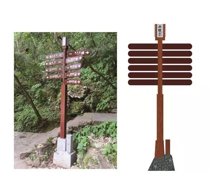 指示标志 道路指示牌灯箱 交通指示牌 景区指示牌图片
