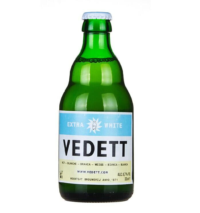 比利时进口啤酒330ml 白熊夜店啤酒 24支一件代发酒吧清吧用酒