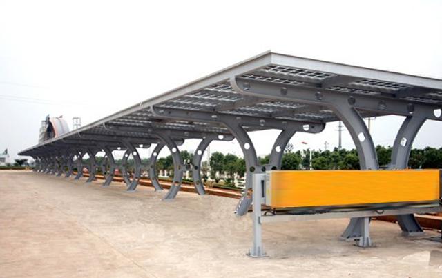 钢结构车棚施工方案