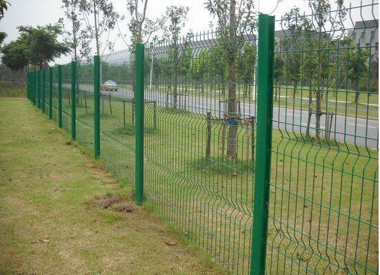 江西1.2米高绿色喷塑市政园林绿化带围栏网厂家围栏网