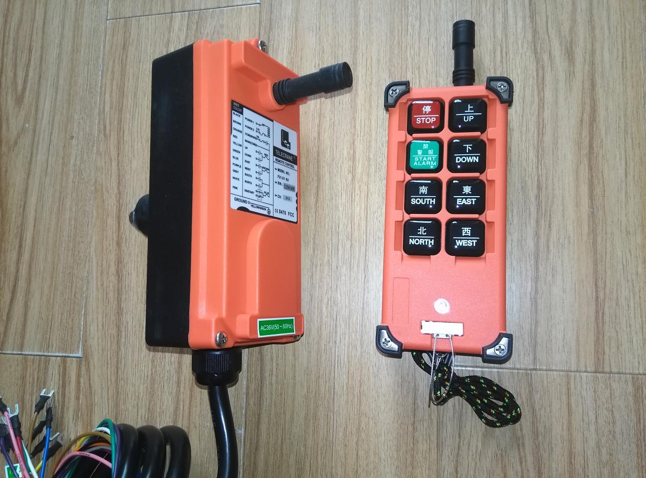 单速电动葫芦或葫芦式行车,起重机及9个接点以下的工业控制遥控用.
