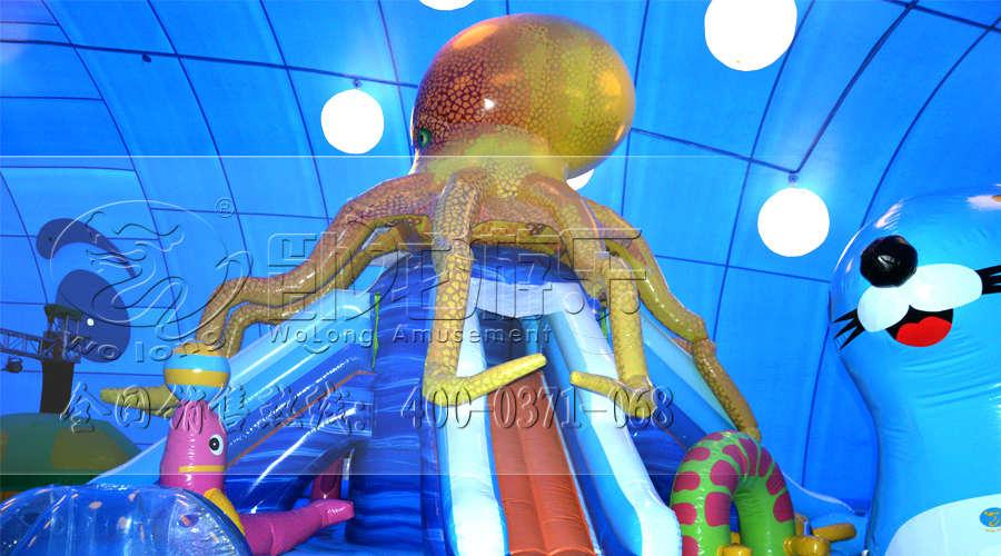 百万海洋球图片 郑州 卧龙